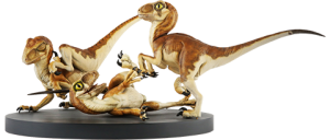 Crash McCreerys Baby Raptors Diorama