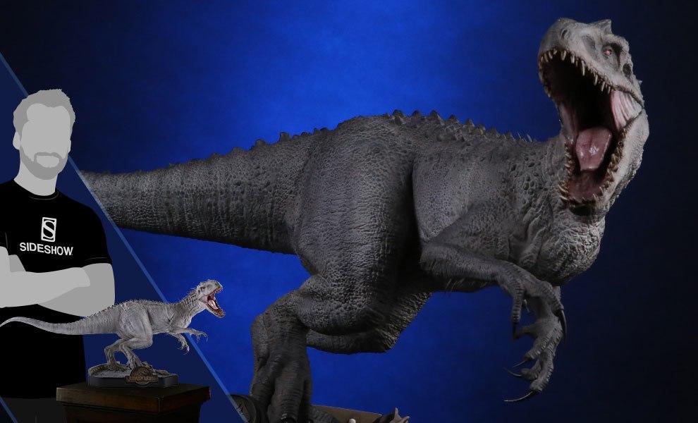 Jurassic World Final Battle Indominus Rex Sideshow Collectibles