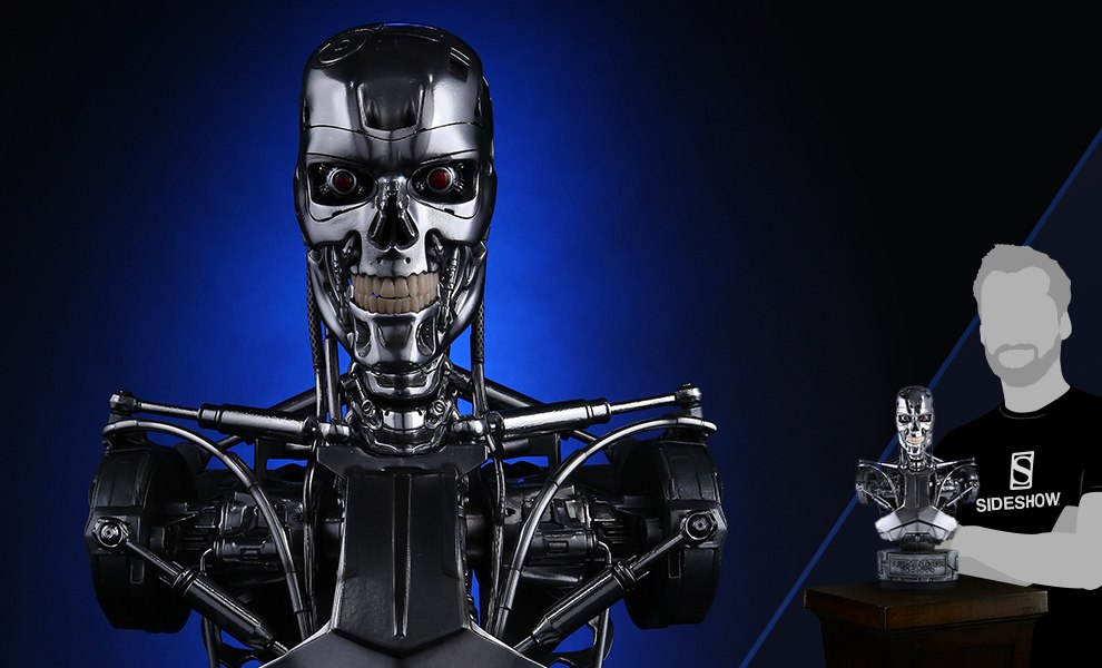 Gallery Feature Image of Endoskeleton Bust - Click to open image gallery