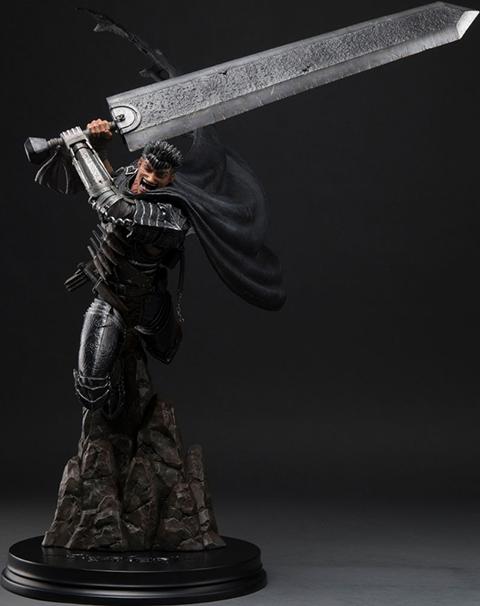 First 4 Figures Guts Black Swordsman Statue