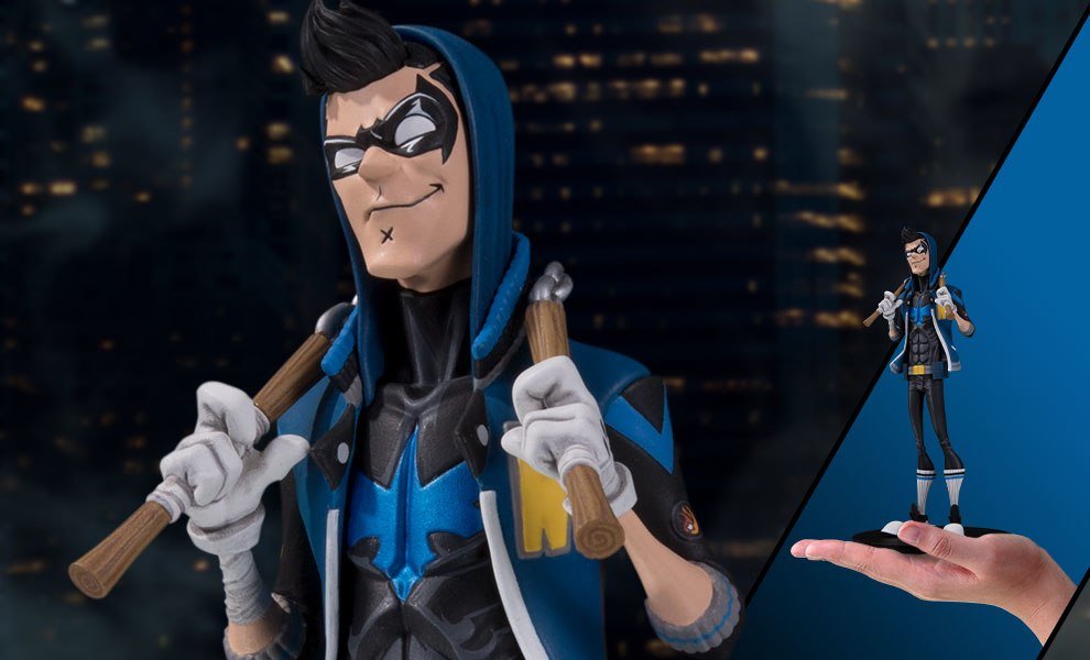 Gallery Feature Image of Nightwing Vinyl Collectible - Click to open image gallery