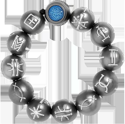 RockLove Black Panther Kimoyo Bracelet Jewelry