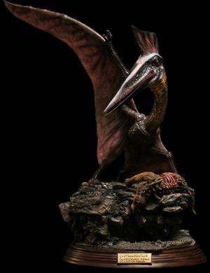 Quetzalcoatlus Statue