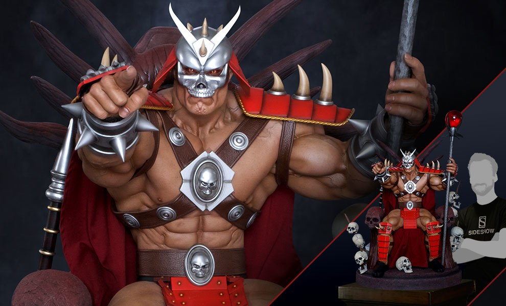 Gallery Feature Image of Shao Kahn on Throne Statue - Click to open image gallery