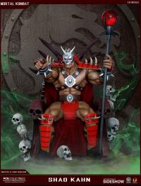 Gallery Image of Shao Kahn on Throne Statue