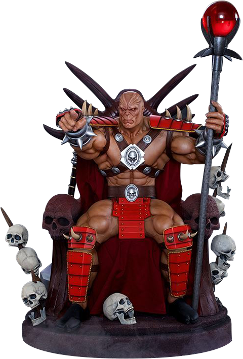 PCS Collectibles Shao Kahn on Throne Statue