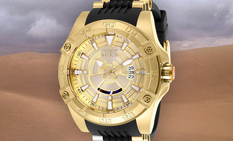 Gallery Feature Image of C-3PO Watch - Model 26521 Jewelry - Click to open image gallery