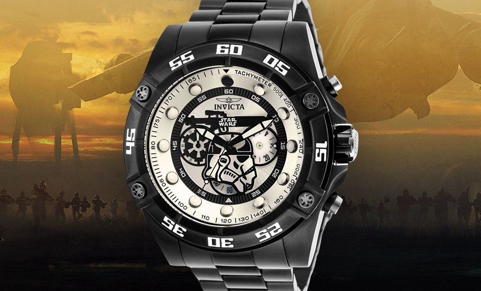 Gallery Feature Image of Stormtrooper Watch - Model 26515 Jewelry - Click to open image gallery