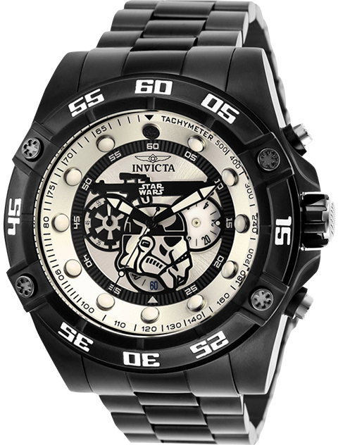 Invicta Stormtrooper Watch - Model 26515 Jewelry