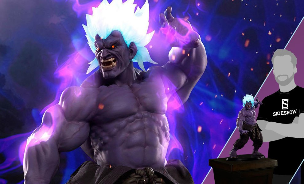 Gallery Feature Image of Oni Akuma Mad Demon Statue - Click to open image gallery