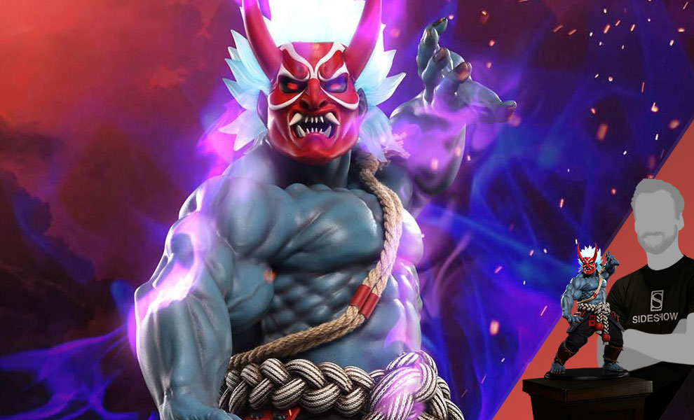Gallery Feature Image of Oni Akuma Summer Demon Statue - Click to open image gallery