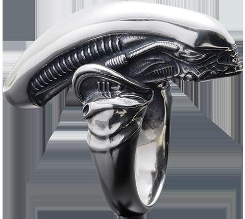 Alien Big Chap Silver Ring
