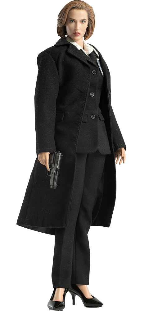 Threezero Agent Scully Deluxe Version Sixth Scale Figure