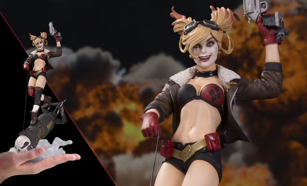 Gallery Feature Image of Harley Quinn Deluxe Statue - Click to open image gallery