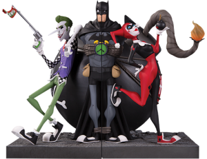 The Joker and Harley Quinn Bookends Office Supplies