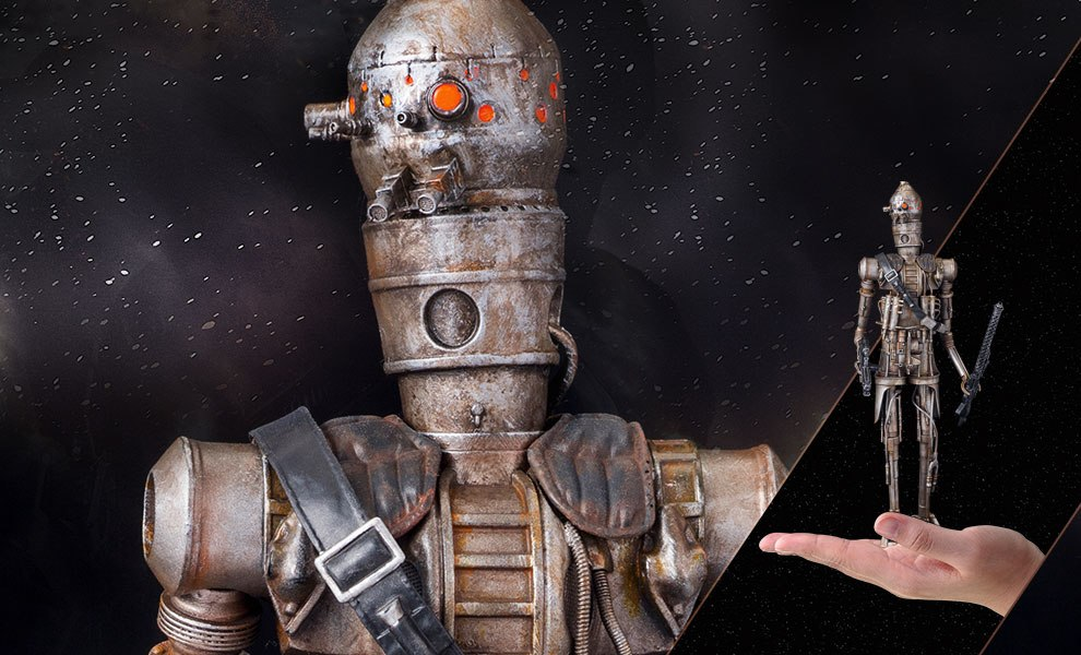 Gallery Feature Image of IG-88 Statue - Click to open image gallery