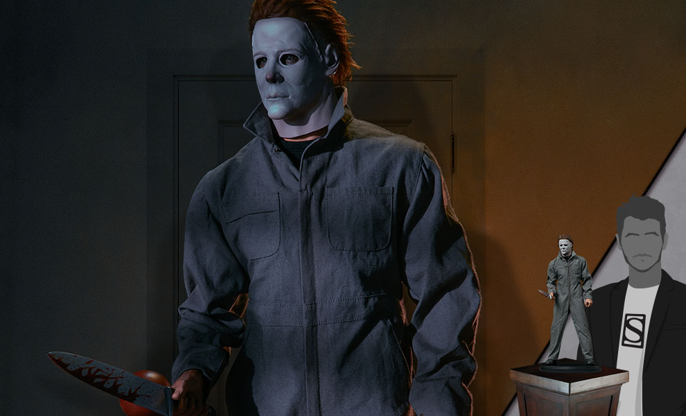 Gallery Feature Image of Michael Myers Statue - Click to open image gallery