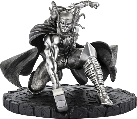 Royal Selangor Thor Figurine Pewter Collectible