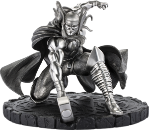 Thor Figurine Pewter Collectible