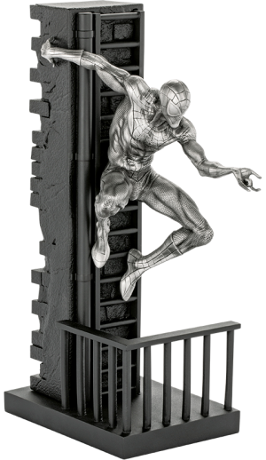 Spider-Man Figurine Pewter Collectible