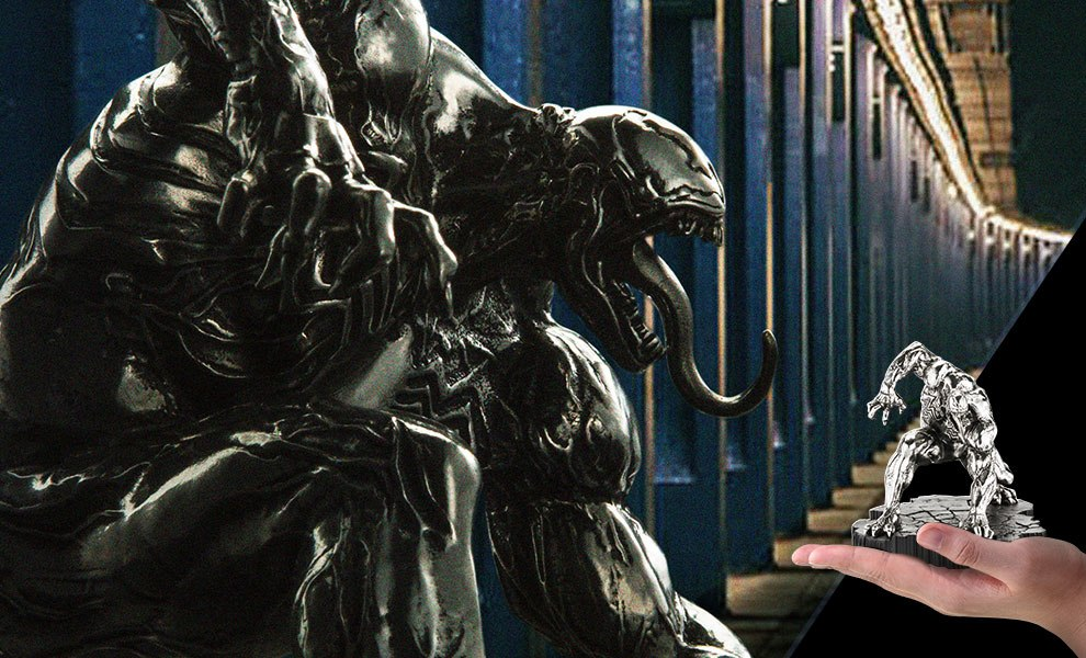Gallery Feature Image of Venom Figurine Pewter Collectible - Click to open image gallery