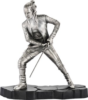 Rey Figurine Pewter Collectible