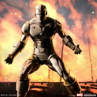 Gallery Image of Iron Man Figurine Pewter Collectible