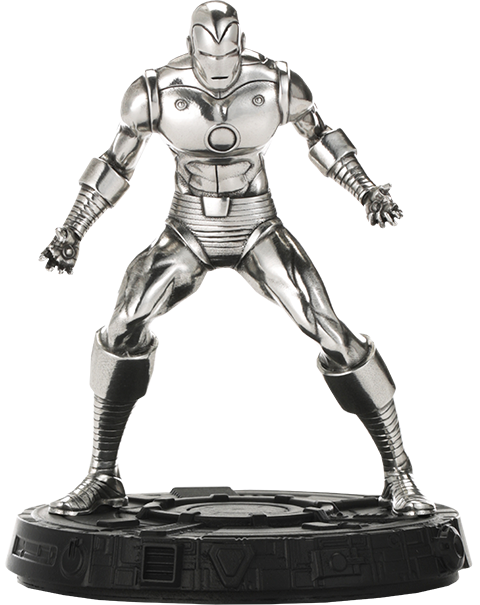 Royal Selangor Iron Man Figurine Pewter Collectible