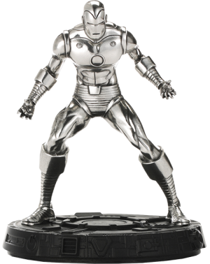 Iron Man Figurine Pewter Collectible