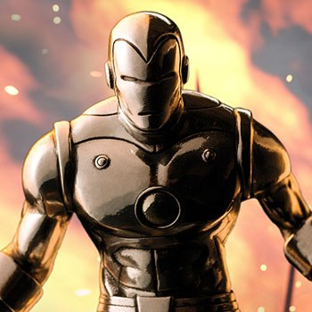 Iron Man Figurine Pewter Collectible