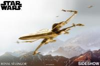 Gallery Image of Gilt X-Wing Starfighter Scaled Replica