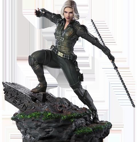 Iron Studios Black Widow 1:10 Scale Statue