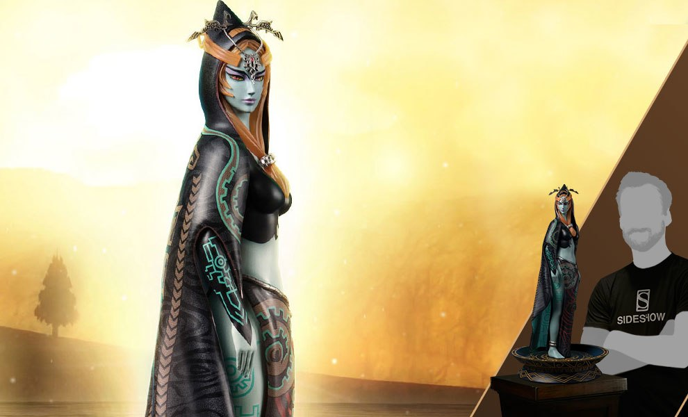 Gallery Feature Image of True Form Midna Statue - Click to open image gallery