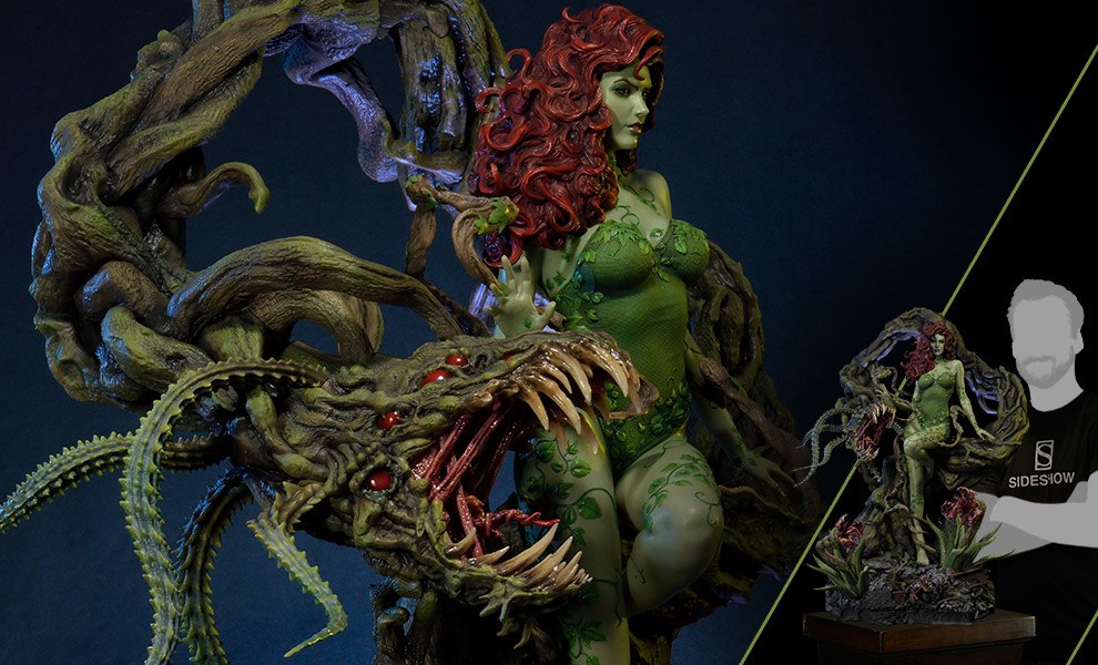 Gallery Feature Image of Poison Ivy Statue - Click to open image gallery