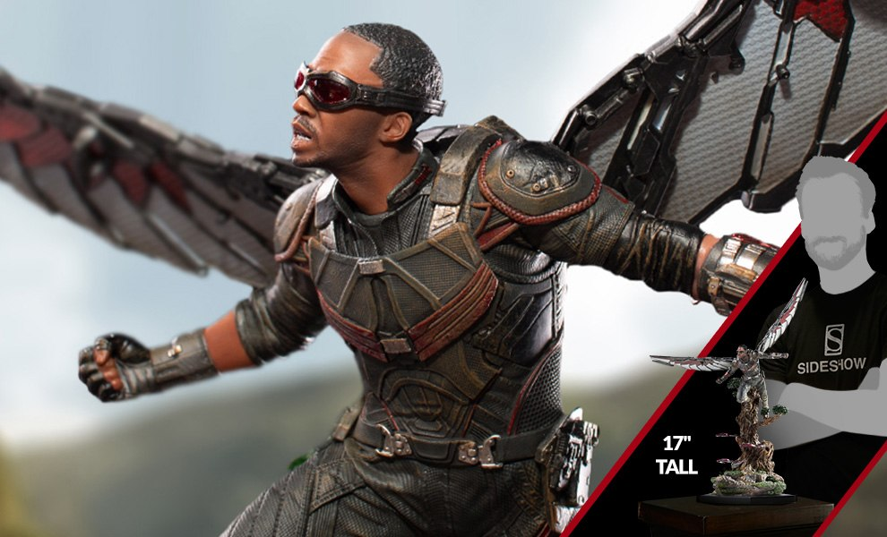 Gallery Feature Image of Falcon 1:10 Scale Statue - Click to open image gallery