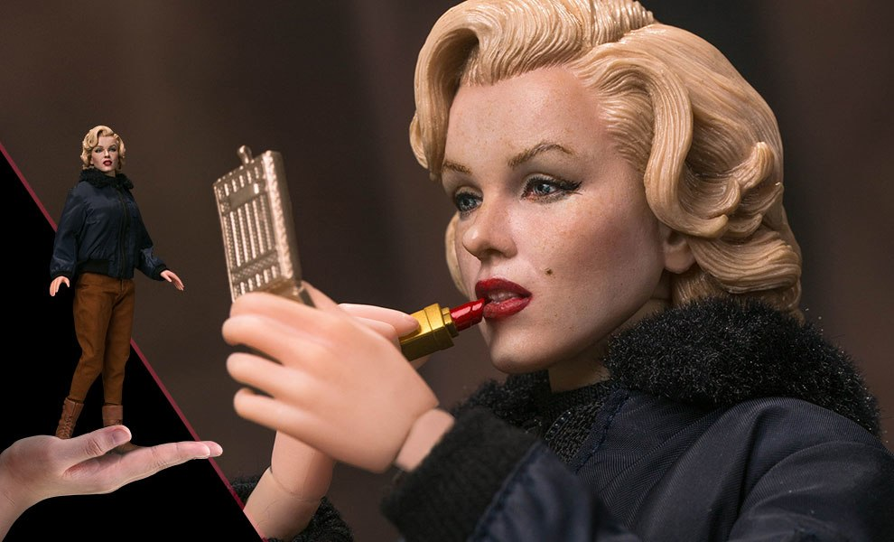 Gallery Feature Image of Marilyn Monroe Military Outfit Sixth Scale Figure - Click to open image gallery
