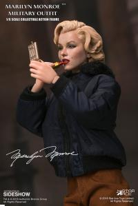 Gallery Image of Marilyn Monroe Military Outfit Sixth Scale Figure
