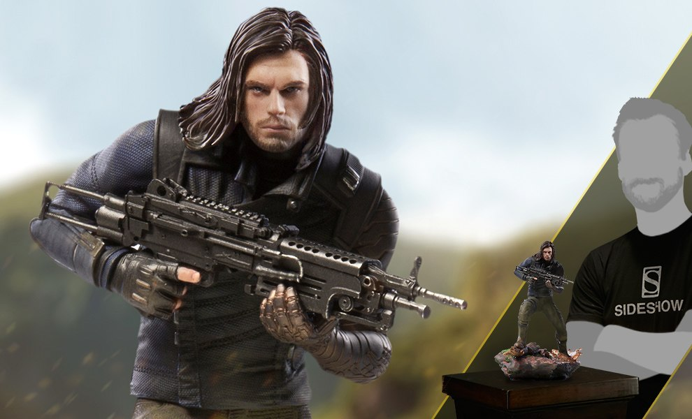 Gallery Feature Image of Winter Soldier Statue - Click to open image gallery