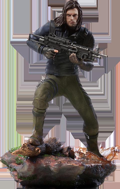 Iron Studios Winter Soldier Statue