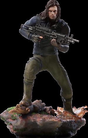 Winter Soldier Statue