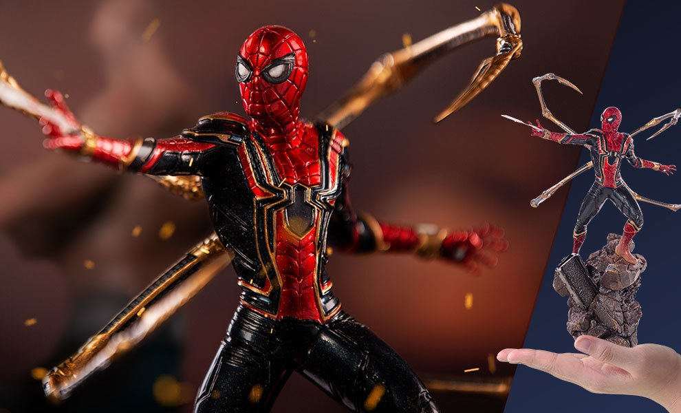Gallery Feature Image of Iron Spider-Man Statue - Click to open image gallery