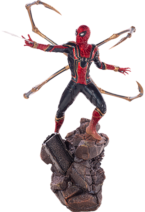 Iron Studios Iron Spider-Man Statue