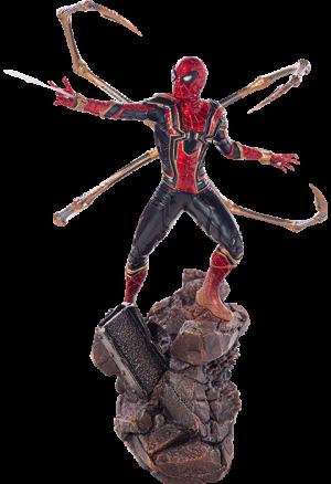 Iron Spider-Man Statue