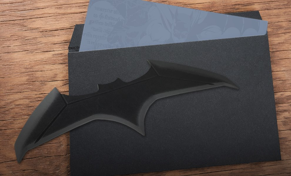 Gallery Feature Image of Justice League Movie Batarang Letter Opener Office Supplies - Click to open image gallery