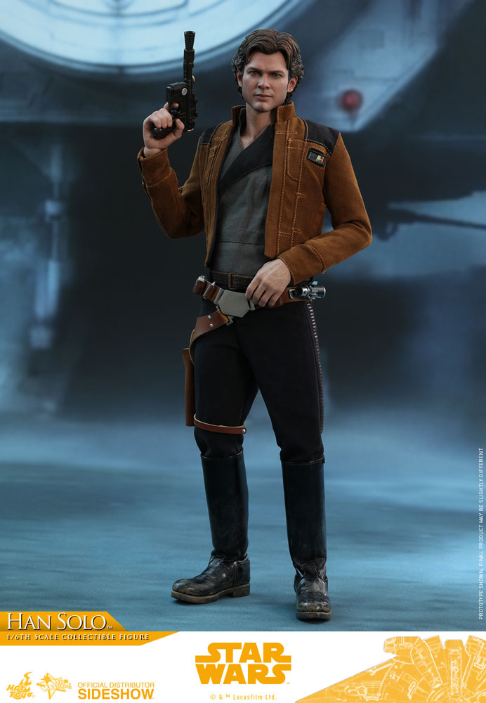 Star Wars Han Solo Sixth Scale Figure by Hot Toys