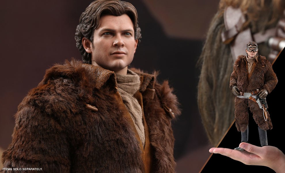 Gallery Feature Image of Han Solo Deluxe Version Sixth Scale Figure - Click to open image gallery