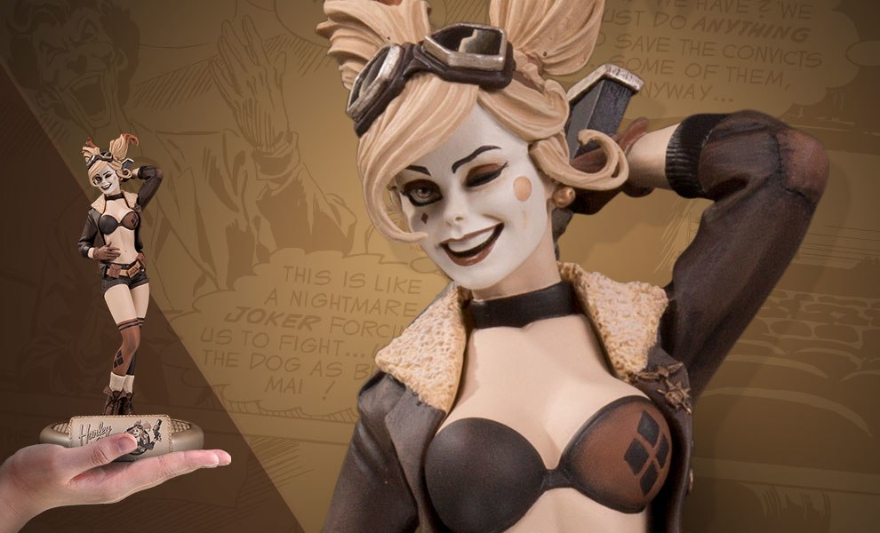 Gallery Feature Image of Harley Quinn Statue - Click to open image gallery
