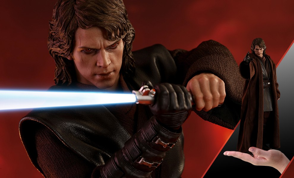 Gallery Feature Image of Anakin Skywalker Dark Side Sixth Scale Figure - Click to open image gallery