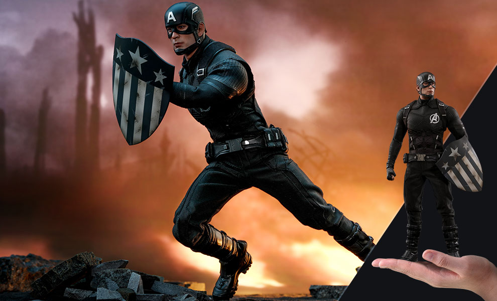 Gallery Feature Image of Captain America Concept Art Version Sixth Scale Figure - Click to open image gallery