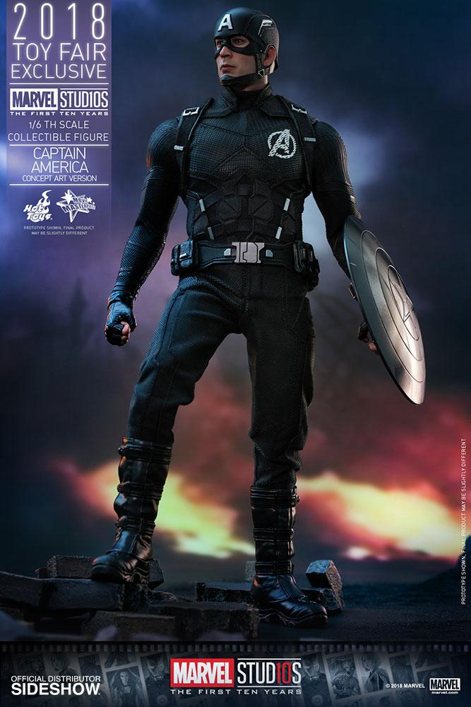 Captain America Concept Art Version Exclusive Edition - Prototype Shown d9e8a54915ac